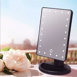 Cosmetic mirror with LED lights